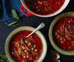 Spicy Tomato Soup With Fennel & Chickpeas | Tanya Zouev