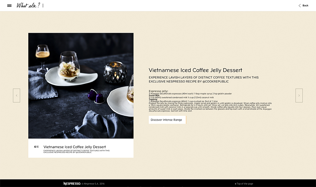 food beverage coffee commercial advertising photography