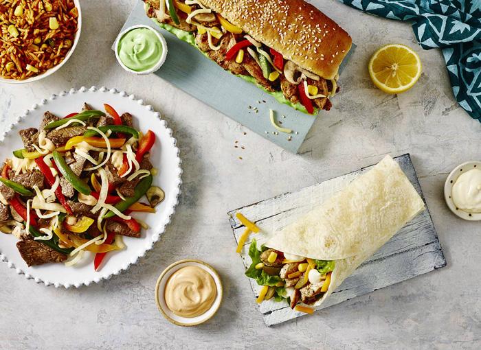 food menu board photography